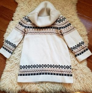 GAP KIDS fall sweater dress size 2T